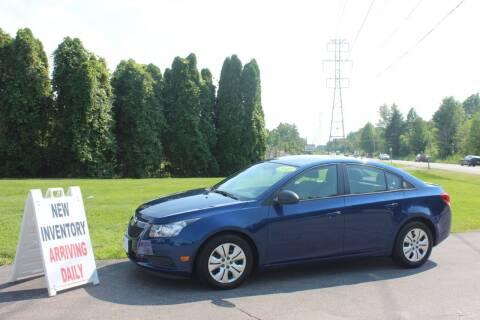 2013 Chevrolet Cruze for sale at D & B Auto Sales LLC in Washington MI