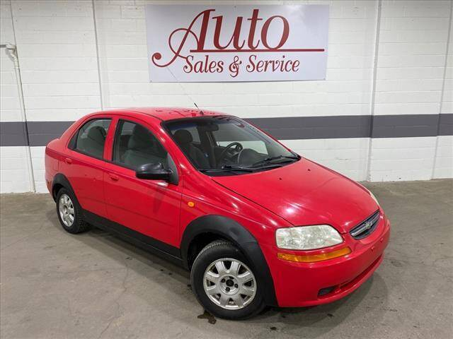 2004 Chevrolet Aveo for sale at Auto Sales & Service Wholesale in Indianapolis IN