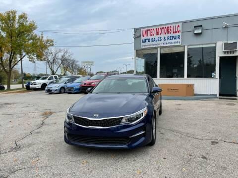 2016 Kia Optima for sale at United Motors LLC in Saint Francis WI