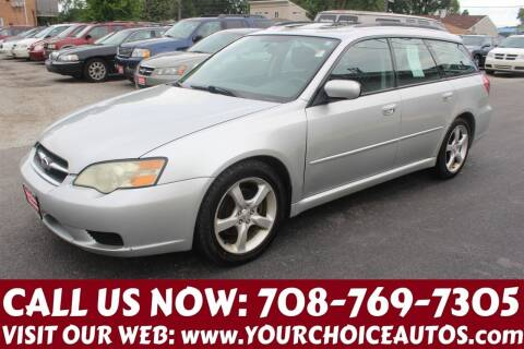 2007 Subaru Legacy for sale at Your Choice Autos in Posen IL