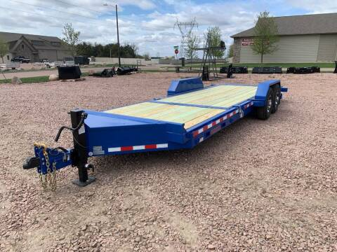2021 Midsota TB-22 Split Tilt #4415 for sale at Prairie Wind Trailers, LLC in Harrisburg SD