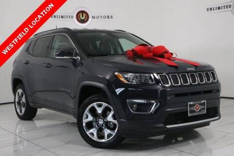 2018 Jeep Compass for sale at INDY'S UNLIMITED MOTORS - UNLIMITED MOTORS in Westfield IN
