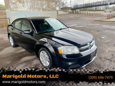 2012 Dodge Avenger for sale at Marigold Motors, LLC in Pekin IL