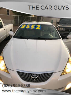 2004 Toyota Camry Solara for sale at The Car Guys in Tucson AZ