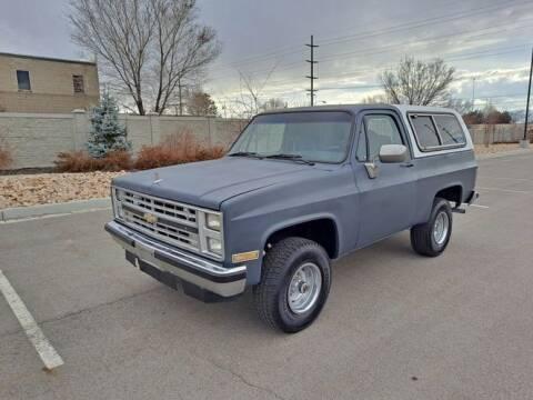 1985 Chevrolet Blazer for sale at Classic Car Deals in Cadillac MI