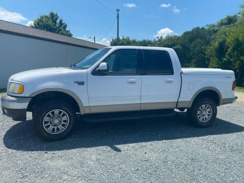2002 Ford F-150 for sale at Rodeo Auto Sales Inc in Winston Salem NC