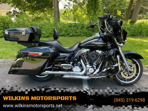 2011 Harley-Davidson StreetGlide for sale at WILKINS MOTORSPORTS in Brewster NY