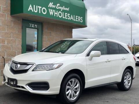 2018 Acura RDX for sale at New England Wholesalers in Springfield MA