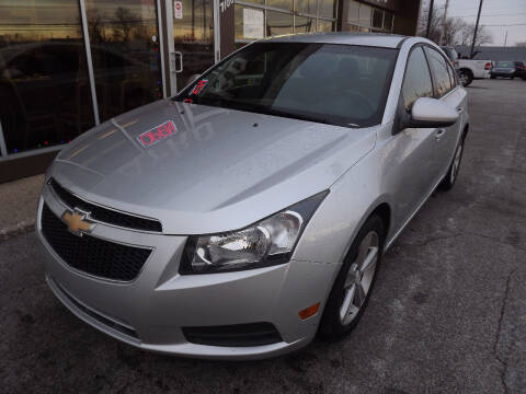 2012 Chevrolet Cruze for sale at Arko Auto Sales in Eastlake OH