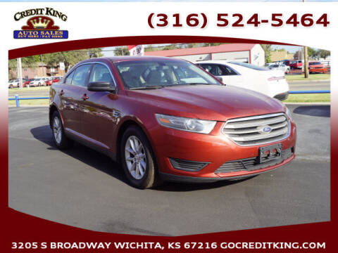 2014 Ford Taurus for sale at Credit King Auto Sales in Wichita KS