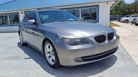 2008 BMW 5 Series for sale at Select Autos Inc in Fort Pierce FL