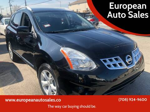 2011 Nissan Rogue for sale at European Auto Sales in Bridgeview IL