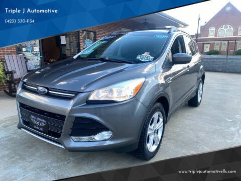 2013 Ford Escape for sale at Triple J Automotive in Erwin TN