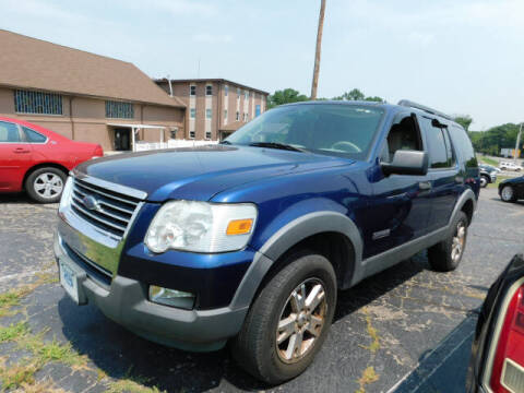 2006 Ford Explorer for sale at WOOD MOTOR COMPANY in Madison TN