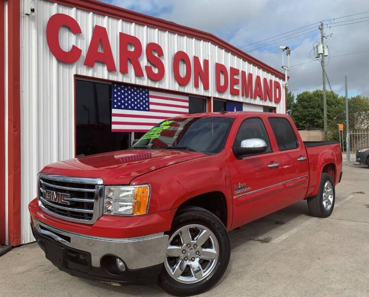 2013 GMC Sierra 1500 for sale at Cars On Demand 3 in Pasadena TX
