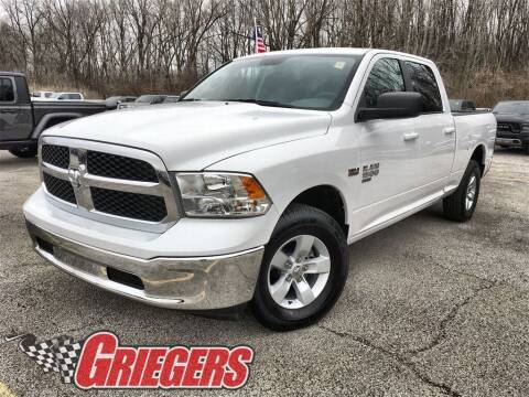 2020 RAM Ram Pickup 1500 Classic for sale at GRIEGER'S MOTOR SALES CHRYSLER DODGE JEEP RAM in Valparaiso IN