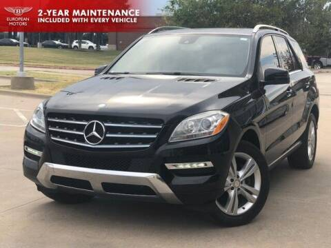 2014 Mercedes-Benz M-Class for sale at European Motors Inc in Plano TX