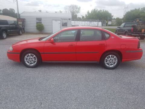 2001 Chevrolet Impala for sale at CAR-MART AUTO SALES in Maryville TN