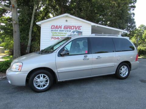 2006 Mercury Monterey for sale at Oak Grove Auto Sales in Kings Mountain NC