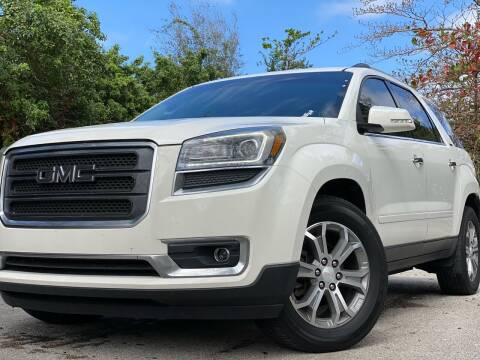 2015 GMC Acadia for sale at HIGH PERFORMANCE MOTORS in Hollywood FL
