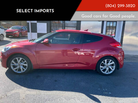 2016 Hyundai Veloster for sale at Select Imports in Ashland VA