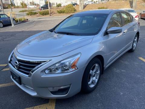 2015 Nissan Altima for sale at Premier Automart in Milford MA