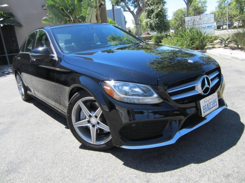 2016 Mercedes-Benz C-Class for sale at ORANGE COUNTY AUTO WHOLESALE in Irvine CA