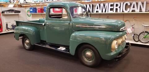 1951 Ford F-100 for sale at MUSCLE CAR CITY LLC in Punta Gorda FL