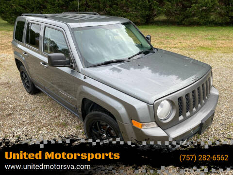 2014 Jeep Patriot for sale at United Motorsports in Virginia Beach VA