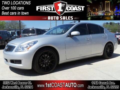 2007 Infiniti G35 for sale at 1st Coast Auto -Cassat Avenue in Jacksonville FL