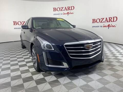 2016 Cadillac CTS for sale at BOZARD FORD in Saint Augustine FL