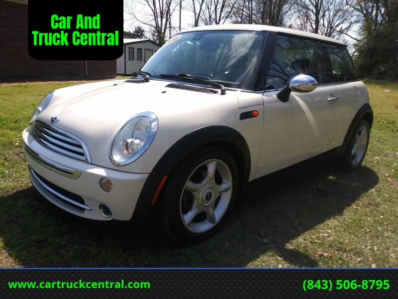 2005 MINI Cooper for sale at Car And Truck Central in Dillon SC