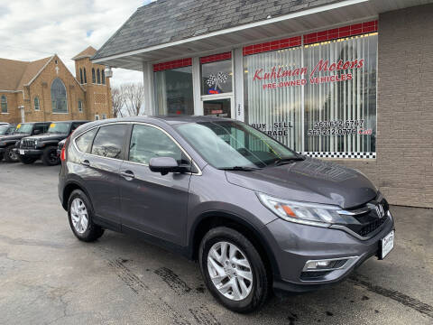 2016 Honda CR-V for sale at KUHLMAN MOTORS in Maquoketa IA