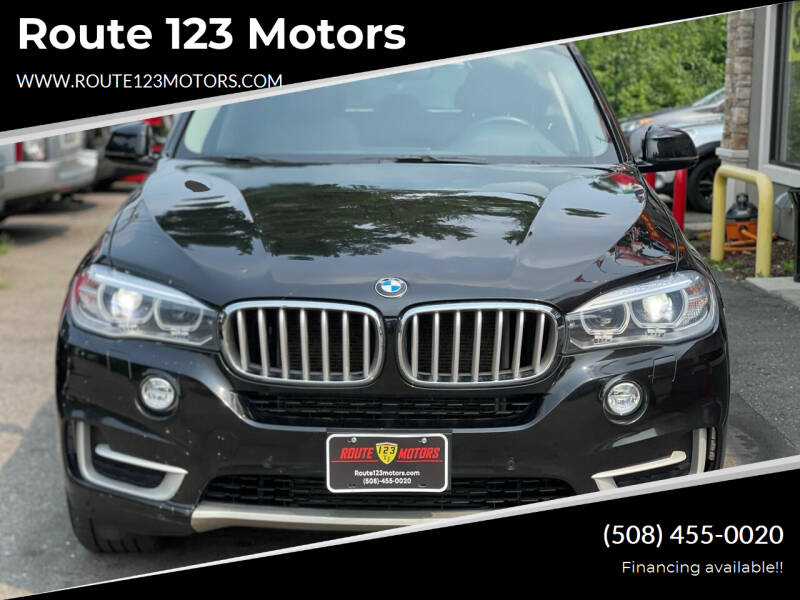 2014 BMW X5 for sale at Route 123 Motors in Norton MA