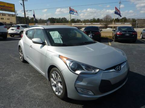 2017 Hyundai Veloster for sale at Roswell Auto Imports in Austell GA