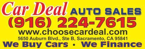 2007 Honda Civic for sale at Car Deal Auto Sales in Sacramento CA