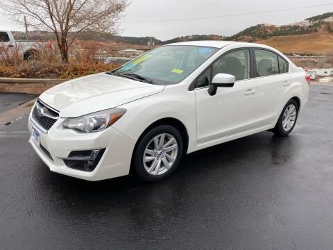 2016 Subaru Impreza for sale at Big Deal Auto Sales in Rapid City SD