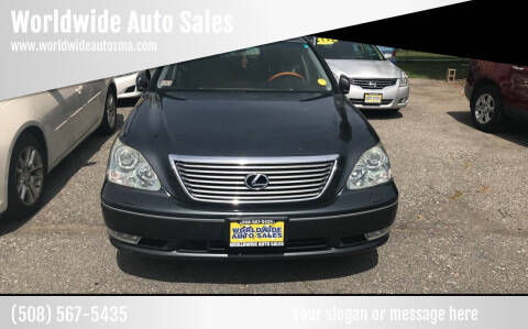 2005 Lexus LS 430 for sale at Worldwide Auto Sales in Fall River MA