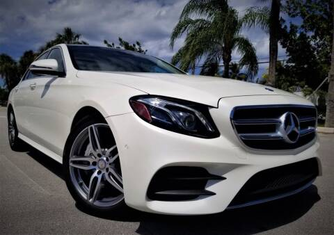2017 Mercedes-Benz E-Class for sale at Progressive Motors in Pompano Beach FL