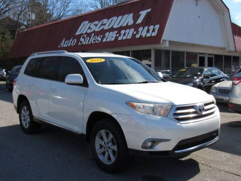 2013 Toyota Highlander for sale at Discount Auto Sales in Pell City AL