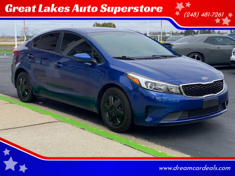 2018 Kia Forte for sale at Great Lakes Auto Superstore in Pontiac MI