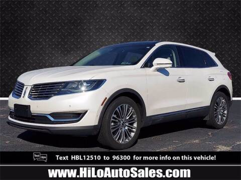 2017 Lincoln MKX for sale at Hi-Lo Auto Sales in Frederick MD