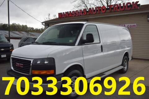 2015 GMC Savana Cargo for sale at MANASSAS AUTO TRUCK in Manassas VA