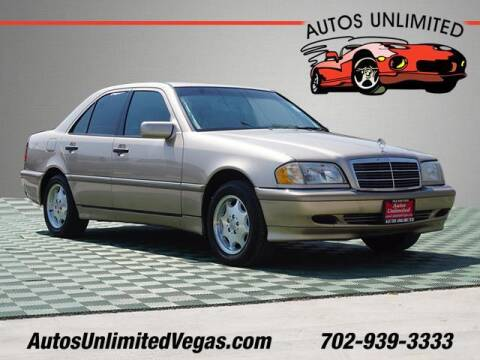 2000 Mercedes-Benz C-Class for sale at Autos Unlimited in Las Vegas NV