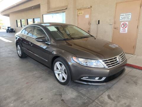 2015 Volkswagen CC for sale at Carzz Motor Sports in Fountain Hills AZ