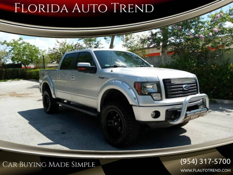 2012 Ford F-150 for sale at Florida Auto Trend in Plantation FL