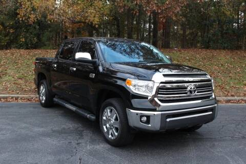 2017 Toyota Tundra for sale at El Patron Trucks in Norcross GA