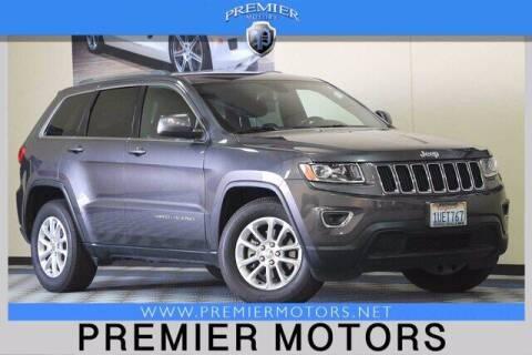 2016 Jeep Grand Cherokee for sale at Premier Motors in Hayward CA