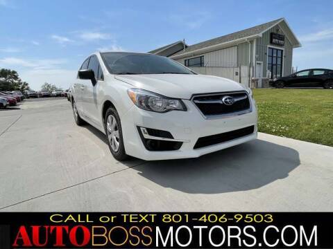 2015 Subaru Impreza for sale at Auto Boss in Woodscross UT