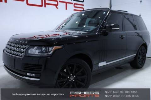 2013 Land Rover Range Rover for sale at Fishers Imports in Fishers IN